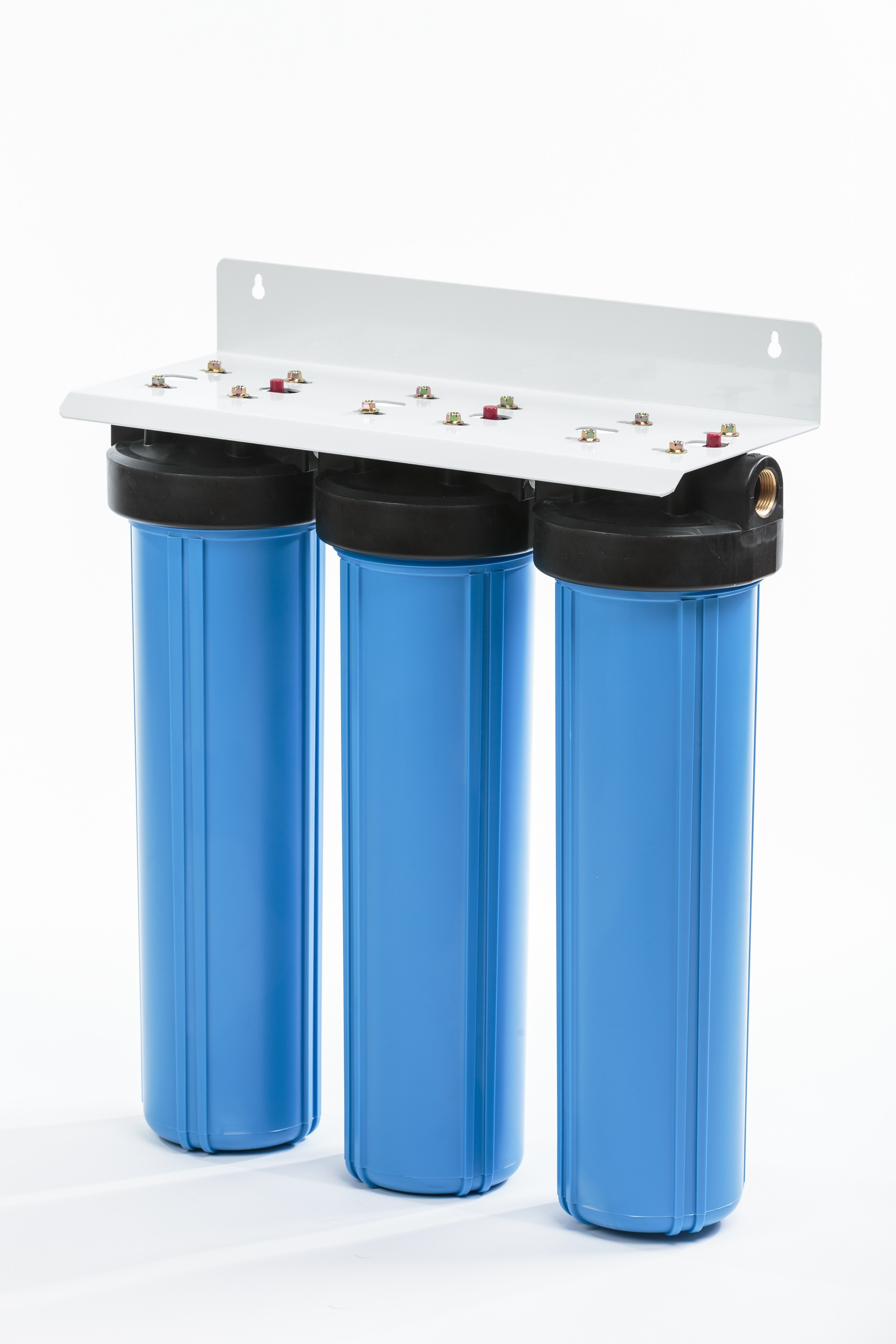 PWT-TRIPLE BIG BLUE-20:  WHOLE-HOUSE CARBON SYSTEM- 3 Stage System