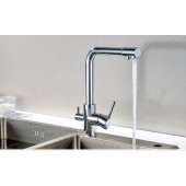 Combine Faucet for top and purified water