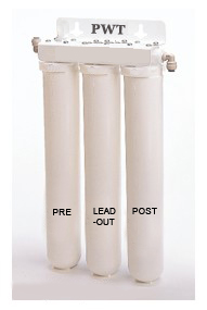 water purification under counter system activated carbon and lead removal